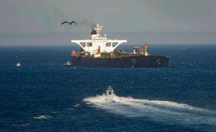 伊朗被扣油轮释放后,下一目的地显示为希腊