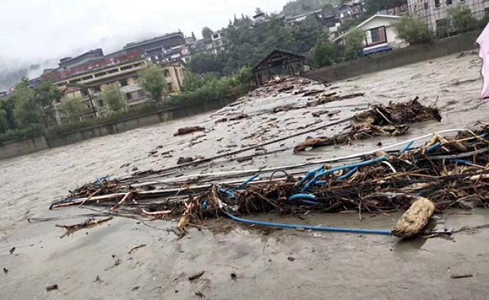 四川阿壩州19個鄉鎮遭受暴雨災害,已致8人死亡23人失聯