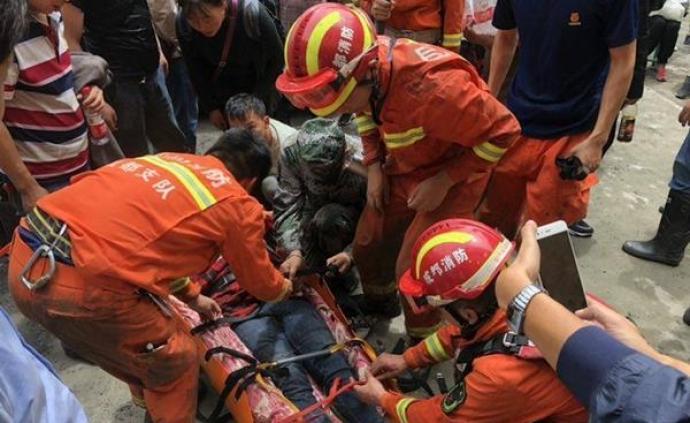 """媒體:處置龍潭電站,為何成了救援受困游客的""""重中之重"""""""