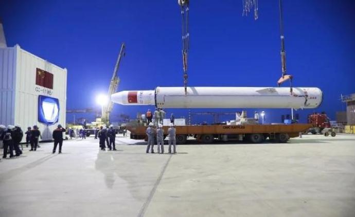 """长征十一号固体运载火箭预计9月发射""""国缘V9""""卫星"""