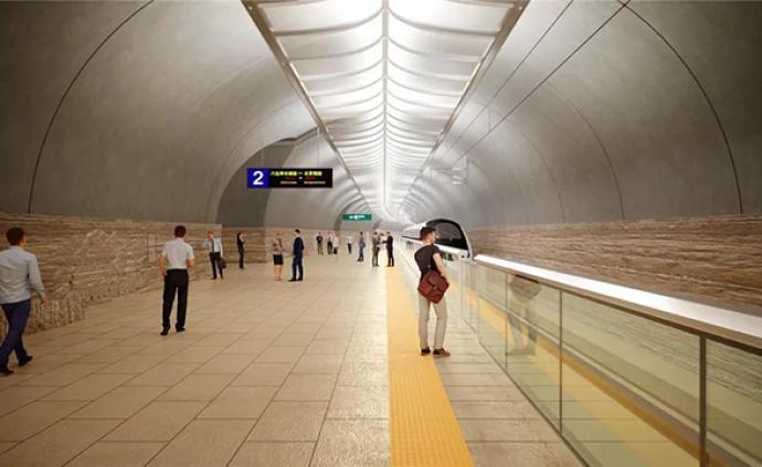 世界最深、規模最大:京張高鐵這個車站亮相