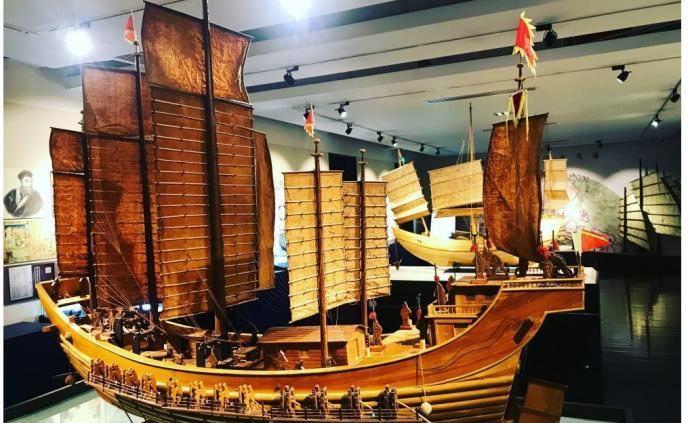 去名校逛博物館,了解中國航海的古今史話