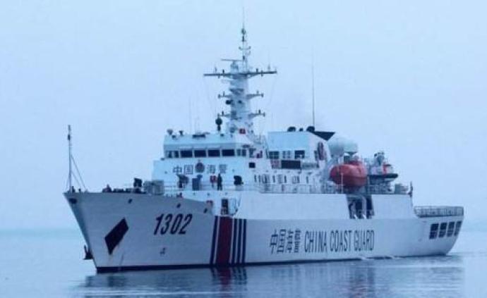 中國海警艦艇編隊8月29日在我釣魚島領海巡航