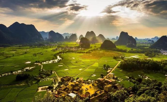 """廣西生態環境質量保持全國前列,有25個""""中國長壽之鄉"""""""