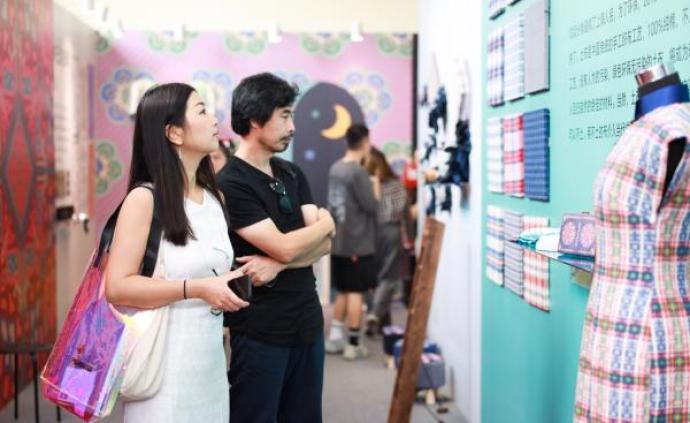"""傳統工藝與現代設計結合,""""非遺""""走秀點亮上海設計周"""