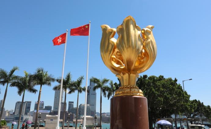 香港政府譴責暴力示威者的破壞行為