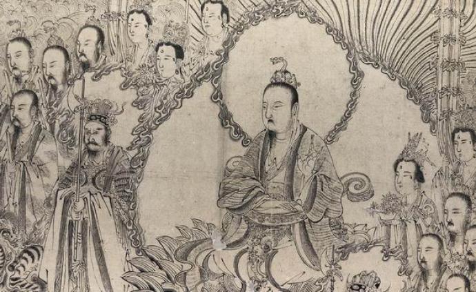 现场|翁同龢旧藏梁楷画作亮相上博,三件孤品撑起一个展览