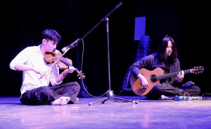 上海音乐学院给这位制作小提琴的年轻人开了一场音乐会