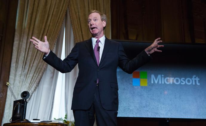 微软总裁:美政府对待华为不公正