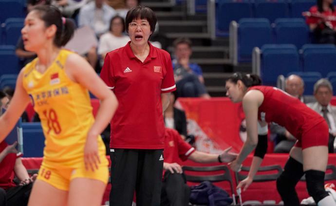 郎平:一传和防守要向日韩学习,比赛目标就是升国旗奏国歌