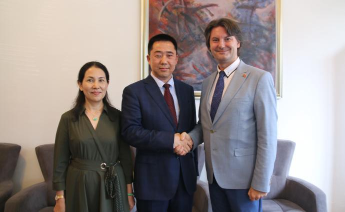 张佐履新中国驻北马其顿大使,此前任中国驻孟加拉国大使