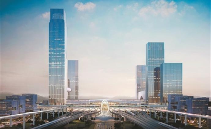 杭州高铁西站枢纽明日开工,确保2022年亚运会前建成运营