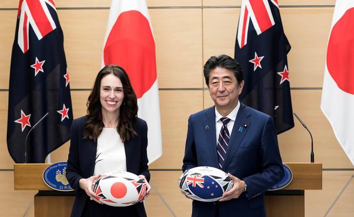 早安·世界|将日本说成中国,新西兰总理访日出现口误