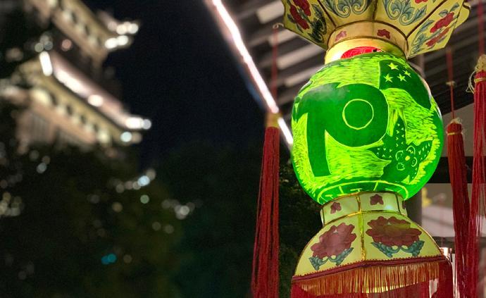 城事|吃瓜雕瓜赏瓜灯:浙江平湖西瓜灯文化节开幕