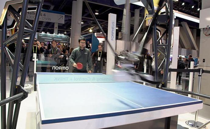 切球、削球、扣球?新一代乒乓球机器人卷土重来,进博会上见