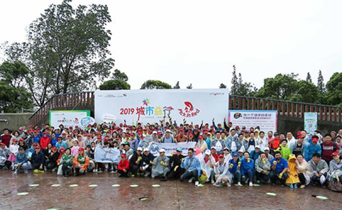 世界清洁日|500人到上海海?#24067;?#22403;圾,参与环保行动