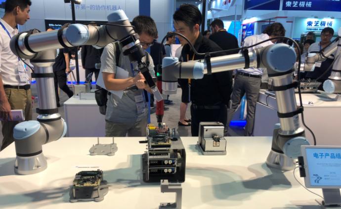 工博会观察|协作机器人新品井喷,5G将重塑工业生产格局