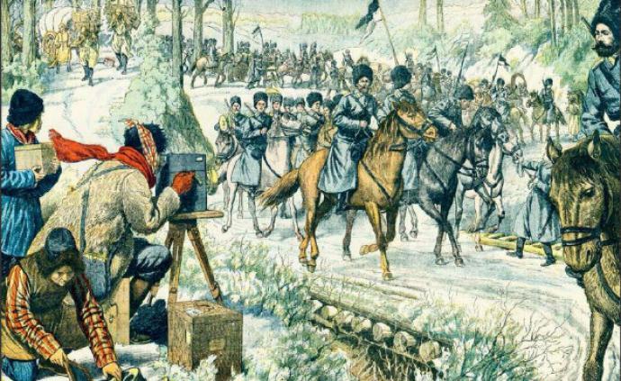 讀圖︱西洋鏡:歐洲畫報看日俄戰爭