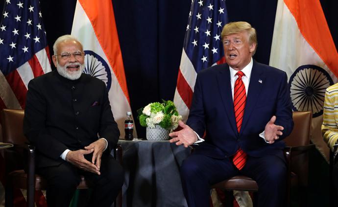 印觀察|莫迪與特朗普親密互動背后:印度等距離外交面臨隱憂