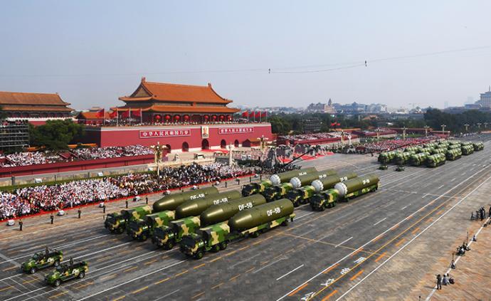 国庆图集⑥|装备方队:全部为中国制造,40%首次亮相