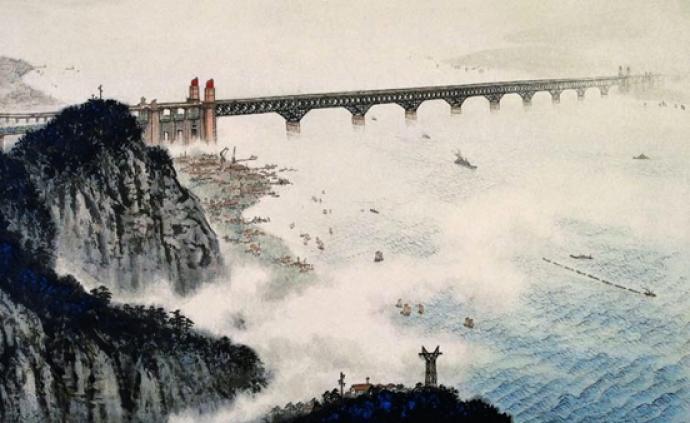 微景觀丨車過長江