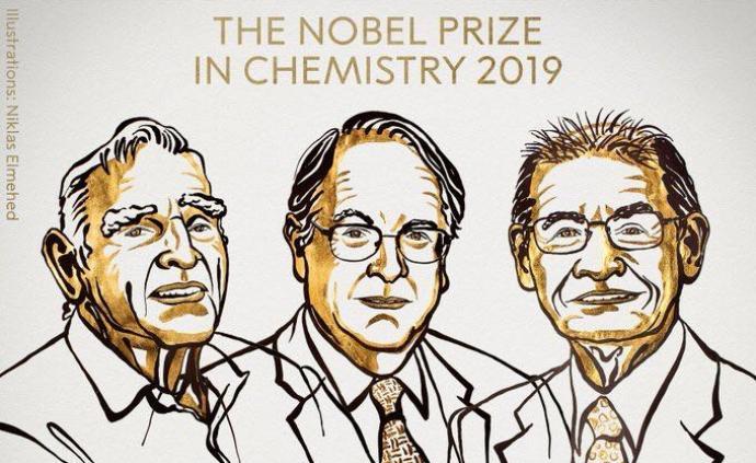 化學諾獎花落鋰離子電池:3位美英日科學家獲獎,一位97歲