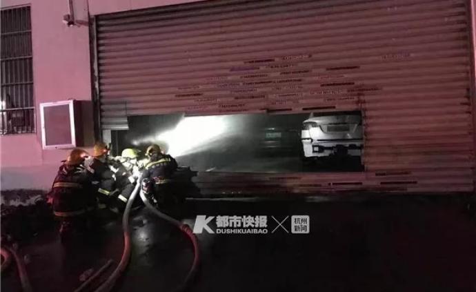 特斯拉維修中心一車自燃致13車受損,多位車主稱廠家不理睬