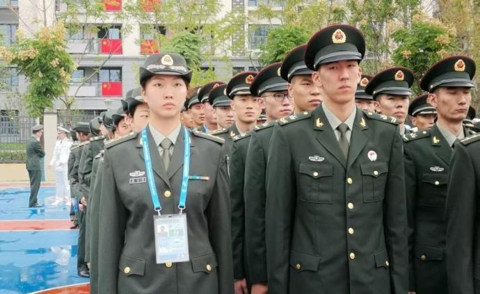中國女排主力袁心玥軍銜曝光:中尉