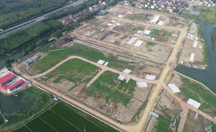 總投資20億元!華為研發中心已在上海金澤鎮全面施工