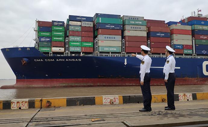 載運進博會最多展品的巨輪抵達洋山港:土耳其150多種產品