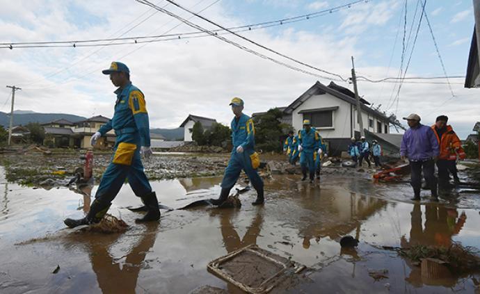 """台风""""海贝思""""已致日本40人死亡16人失踪,189人受伤"""