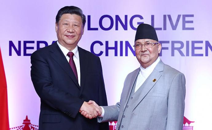 图解习近平同尼泊尔总理奥利会谈