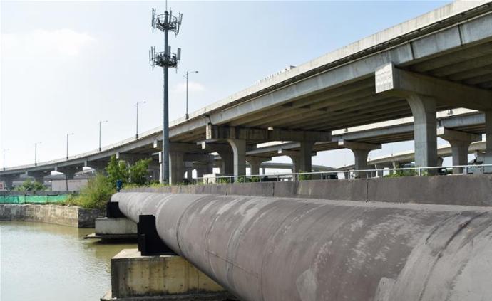 第四條對澳供水管道工程通水,雙線路供水保障澳門用水安全