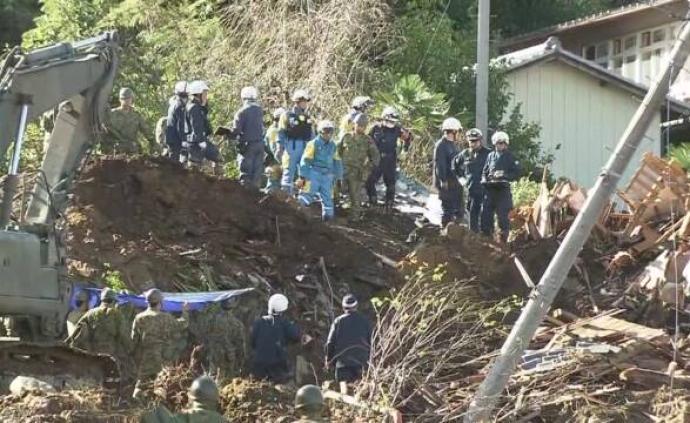 """台风""""海贝思""""已致日本52死,福岛县遇难者最多"""