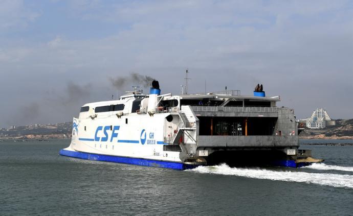受大風天氣影響,福建平潭赴臺航線10月18日至20日停航