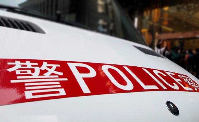 香港警方記者會:首次發現有人針對警員使用土制炸彈