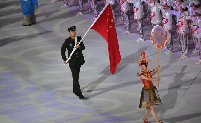 體壇聯播|軍運代表團旗手王治郅:用過硬的作風和對手抗衡