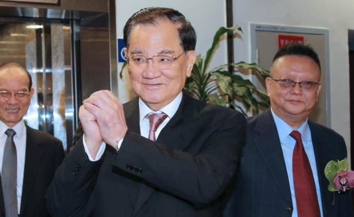 连战将出任韩国瑜后援会总会长,竞选总部主委待定