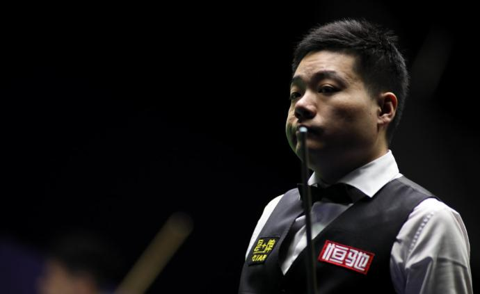 """丁俊晖遭遇赛季第三次""""一轮游"""",对手此前世界排名垫底"""