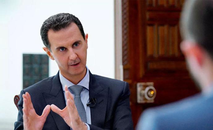 阿薩德:敘利亞不會同意國土分裂,俄介入土軍事行動影響積極