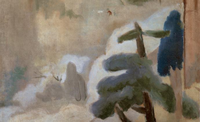 """油画与当代语境中的山水,上海油雕院展""""山川悠远""""创作文献"""