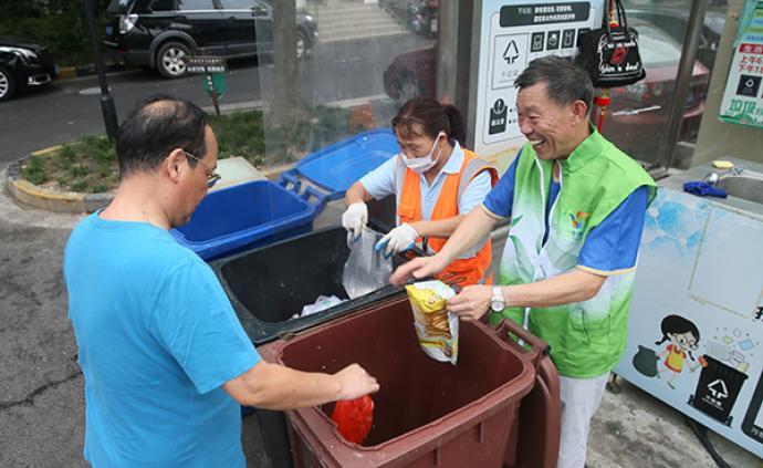 上海垃圾分类成效如何?可回收物比一年前增长4.6倍