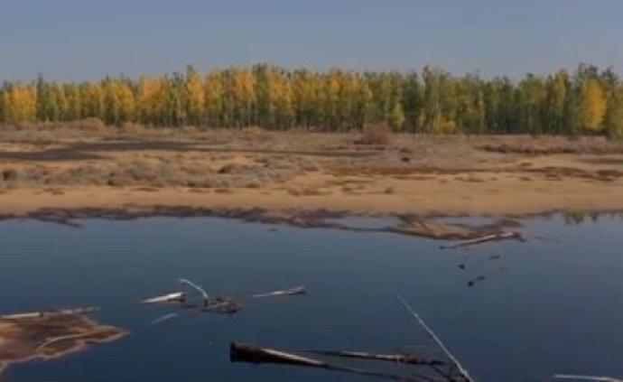 """騰格里沙漠排污等西部地區生態問題再調查:""""由黑到綠""""之變"""