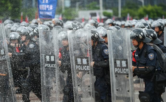 廣州明天上午將進行反恐演練,警方提醒:請勿拍照錄像