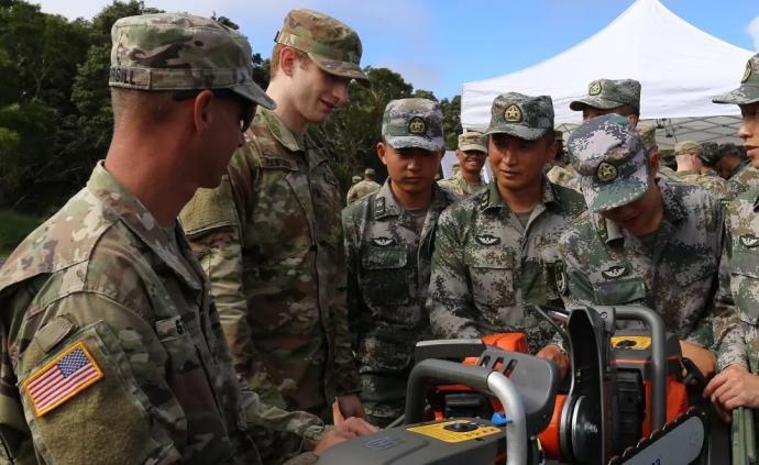 2019年中美兩軍人道主義救援減災聯合演練舉行