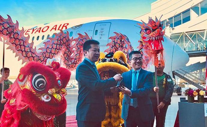 波音向中國交付第100架787型夢想客機