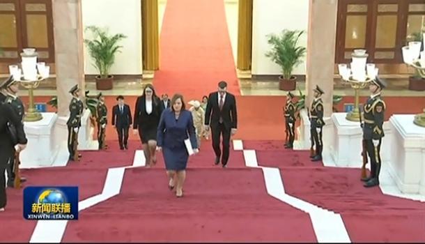 習近平接受19國新任駐華大使遞交國書