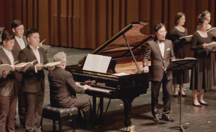 廖昌永帶上音學生演繹舒伯特《冬之旅》,該版本系亞洲首演