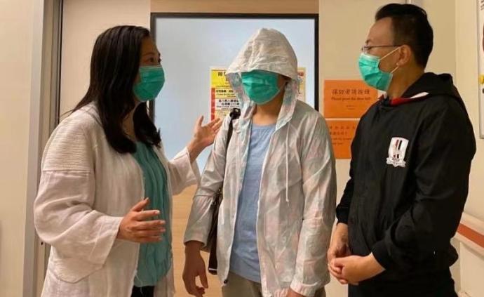 香港被燒傷李伯轉往燒傷中心,感謝香港市民及內地同胞