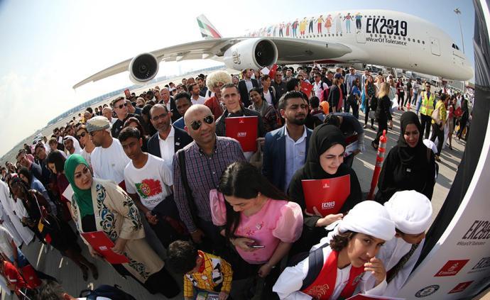 早安·世界|阿聯酋創搭載最多不同國籍乘客航班世界紀錄